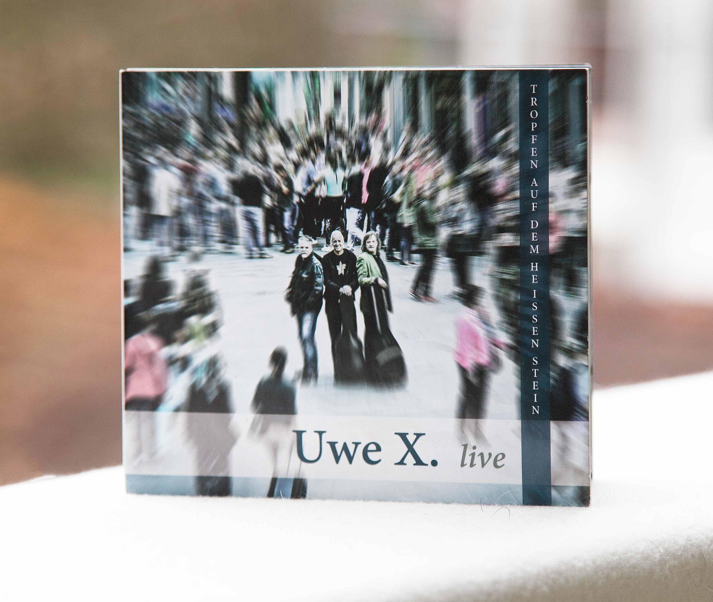 CD Cover und Booklet Uwe X.